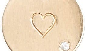Gold - Heart swatch image