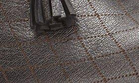 Black Graphite Leather swatch image