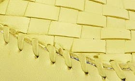 Canary Leather swatch image