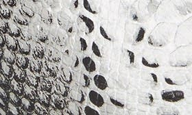 Black/ White Snake swatch image
