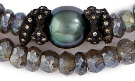 Labradorite/ Black swatch image