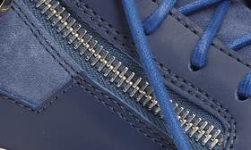 Blue Suede/ Leather swatch image