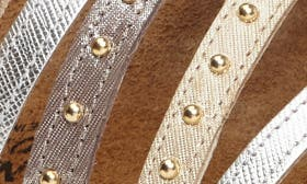 Gold/ Silver Leather swatch image