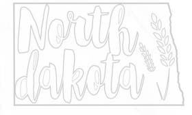 North Dakota swatch image