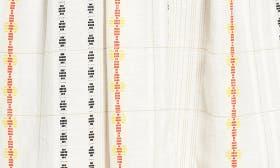 Ivory Tilly Pattern swatch image