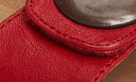 Cupid Red Leather swatch image