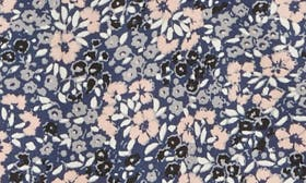 Navy Peacoat Simple Floral swatch image