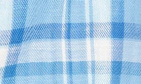 Blue Double Faced Plaid swatch image