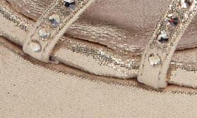 Gold Metallic Fabric swatch image