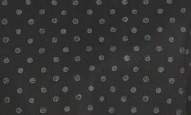 Black Caviar Grey Dot Print swatch image