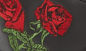 Black Softy Embroidery swatch image