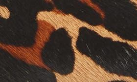 Cognac Print Calf Hair swatch image