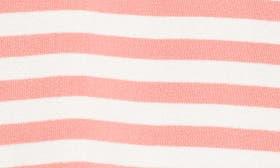 Coral Sugar- White Stripe swatch image