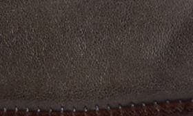 Grey Lead Olmo Leather swatch image