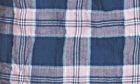 Crinkle Blue Pine Plaid swatch image