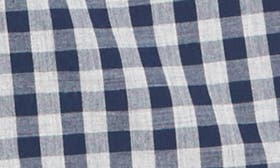 Grey Shade Navy Gingham swatch image