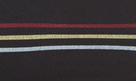 Black/ Multi Stripe swatch image