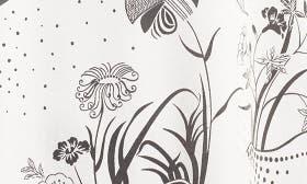 Ivory Egret Decorative Scenery swatch image