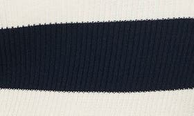 Navy/ Off White Thick Stripe swatch image