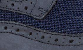 Navy Knit/ Nubuck swatch image