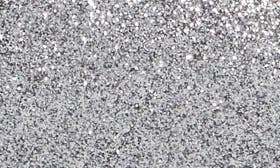 Pewter Glitter Suede swatch image