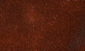 Rust Waxed Suede swatch image