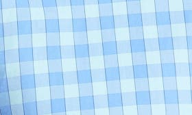 Sail Boat Gingham/ Island swatch image