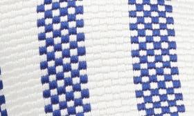Dark Blue/ Off White Satin swatch image