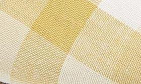 Yellow Gingham Print Fabric swatch image