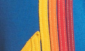 Caribbean/ Red Stripe swatch image