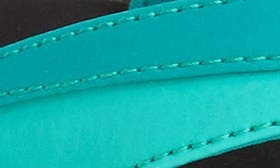 Mermaid/ Black Faux Leather swatch image