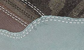 Grey/ Blue Leather swatch image