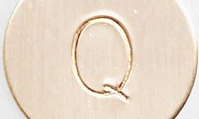 14K Gold Fill Q swatch image