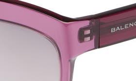 Transparent Purple/ Silver swatch image