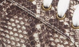 Snake Print Leather swatch image