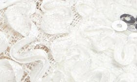 White Lace Fabric swatch image