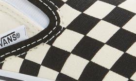 Black/ White Checker/ White swatch image