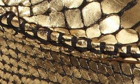 Gold Snake Black swatch image