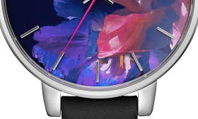 Black/ Floral/ Silver swatch image