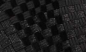 Black/ Metallic Fabric swatch image