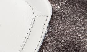 Gunmetal/ White Cashmere swatch image