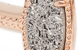 Platinum Drusy/ Rose Gold swatch image
