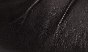 Black Saratoga Leather swatch image