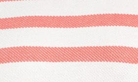 Coral- Ivory Stripe swatch image