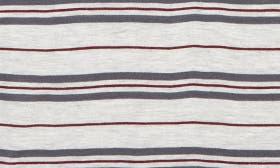Grey Ash Heather Multi Stripe swatch image