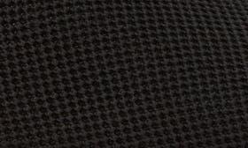 Black Knit/ Nubuck swatch image