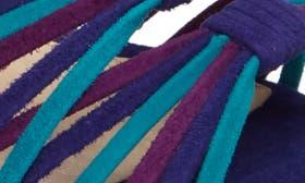Blue/ Iris/ Pure Suede swatch image