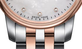 Silver/ Mop/ Rose Gold swatch image