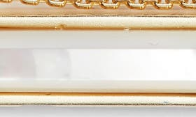 Ivory Mop/ Gold swatch image