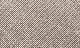 Pewter Black Leather swatch image